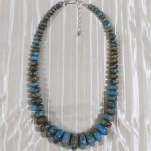 Jay King DTR graduated turquoise necklace